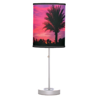 Gorgeous Tropical Sunset Lamp
