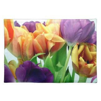 Gorgeous Tulips Bouquet Place Mat