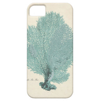 Gorgeous Turquoise/Aqua Pacific Sea Fan iPhone 5 Cases