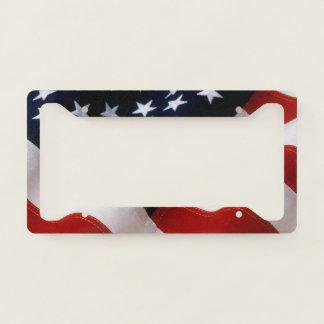 Gorgeous USA Flag License Plate Frame