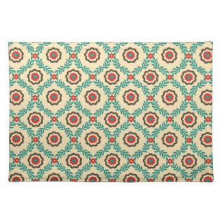 Gorgeous Vintage Floral Abstract Place Mats