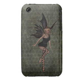 Gorgeous Vintage Gothic Fairy iPhone 3 Case-Mate Cases