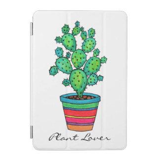 Gorgeous Watercolor Cactus In Beautiful Pot iPad Mini Cover