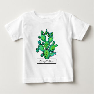 Gorgeous Watercolor Prickly Cactus Baby T-Shirt