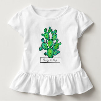Gorgeous Watercolor Prickly Cactus Toddler T-shirt