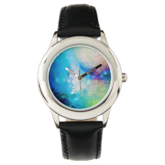 Gorgeous watercolor watch