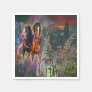 Gorgeous Western Horse Napkins Disposable Napkin