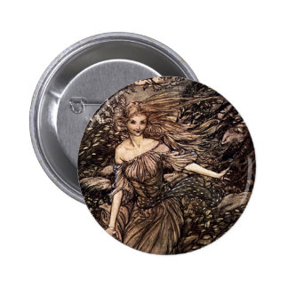 Gorgeous Woman of the Woods 2 Inch Round Button