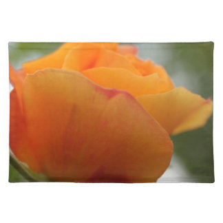 Gorgeous yellow rose flower photography. placemats