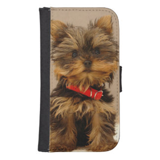 Gorgeous Yorkshire Terrier Samsung S4 Wallet Case