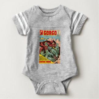 Gorgo and Cyclops Monster Baby Bodysuit