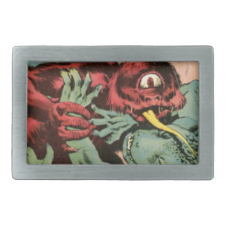 Gorgo and Cyclops Monster Belt Buckles