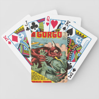 Gorgo and Cyclops Monster Bicycle Playing Cards