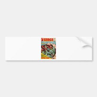 Gorgo and Cyclops Monster Bumper Sticker