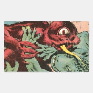 Gorgo and Cyclops Monster Sticker