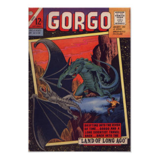 Gorgo and the WInged Dinosaur Poster
