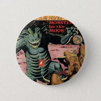 Gorgo on the Moon 2 Inch Round Button