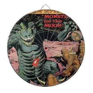 Gorgo on the Moon Dartboard