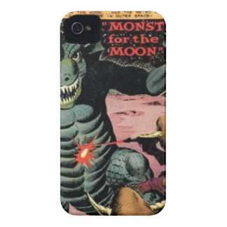 Gorgo on the Moon iPhone 4 Covers