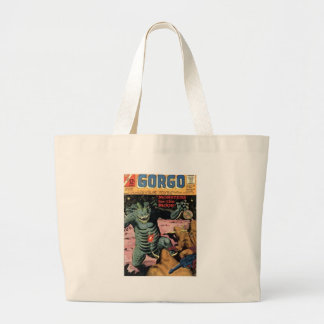 Gorgo on the Moon Large Tote Bag