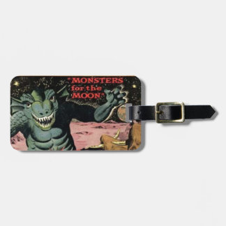 Gorgo on the Moon Luggage Tag