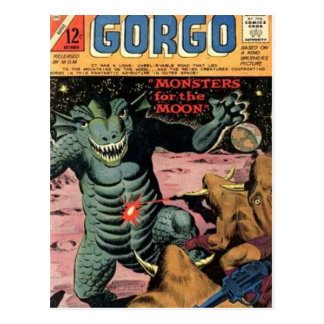 Gorgo on the Moon Postcard