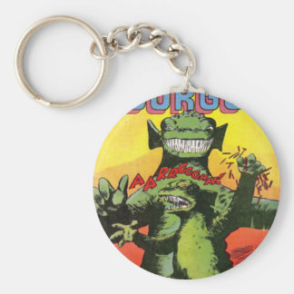 Gorgo the Creature from Beyond Basic Round Button Keychain