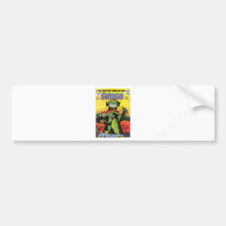 Gorgo the Creature from Beyond Bumper Sticker