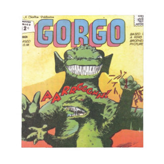 Gorgo the Creature from Beyond Notepad