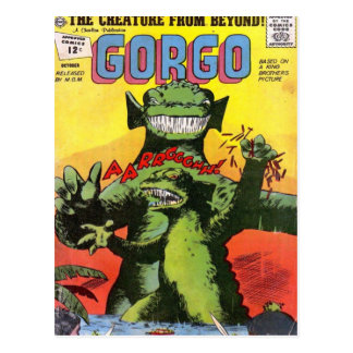 Gorgo the Creature from Beyond Postcard