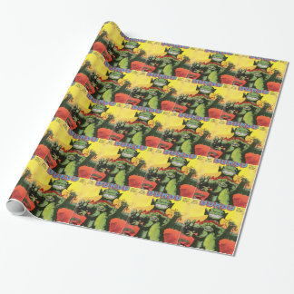 Gorgo the Creature from Beyond Wrapping Paper