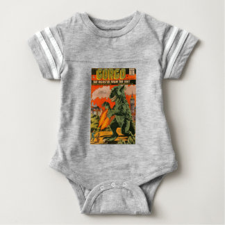 Gorgo the Monster from the Sea Baby Bodysuit
