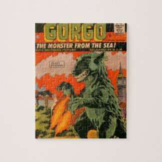 Gorgo the Monster from the Sea Jigsaw Puzzle