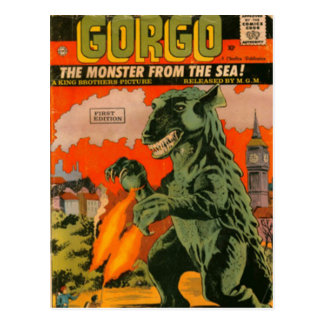 Gorgo the Monster from the Sea Postcard