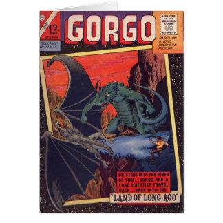 Gorgo vs. Pterodactyl Card