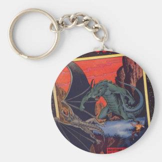 Gorgo vs. Pterodactyl Keychain