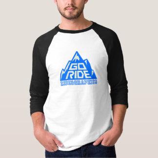 GORIDE mountain logo 4/3 sleeve T-Shirt