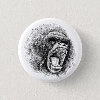Gorilla 1 Inch Round Button