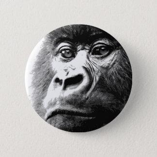Gorilla 2 Inch Round Button