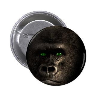 Gorilla Ape Monkey 2 Inch Round Button