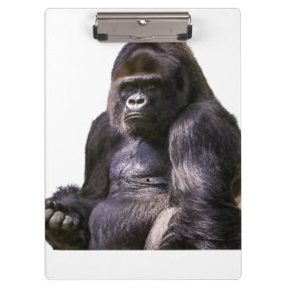 Gorilla Ape Monkey Clipboard