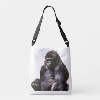 Gorilla Ape Monkey Crossbody Bag