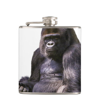 Gorilla Ape Monkey Hip Flask
