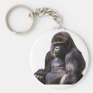 Gorilla Ape Monkey Keychain
