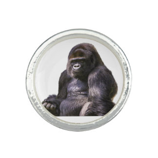 Gorilla Ape Monkey Photo Rings