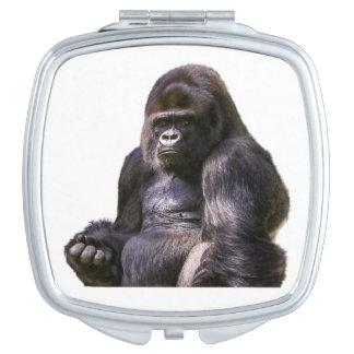 Gorilla Ape Monkey Travel Mirror