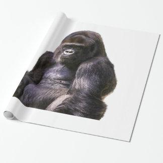 Gorilla Ape Monkey Wrapping Paper
