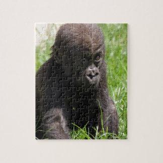 Gorilla baby jigsaw puzzle