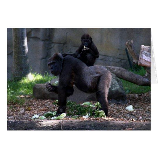 gorilla back card