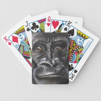 Gorilla Bicycle Playing Cards